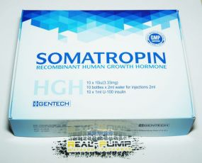 Гормон Роста Somatropin (Gentech)
